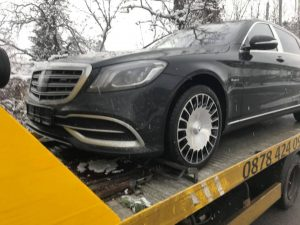 Mercedes Maybach S560 репатриране до собствеик