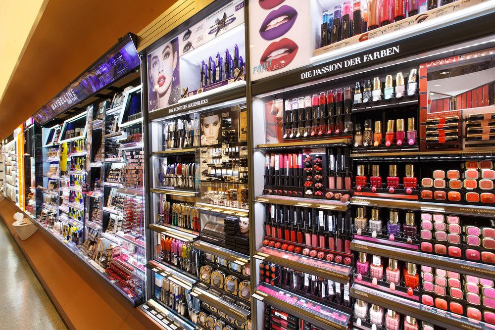 покупка на козметика