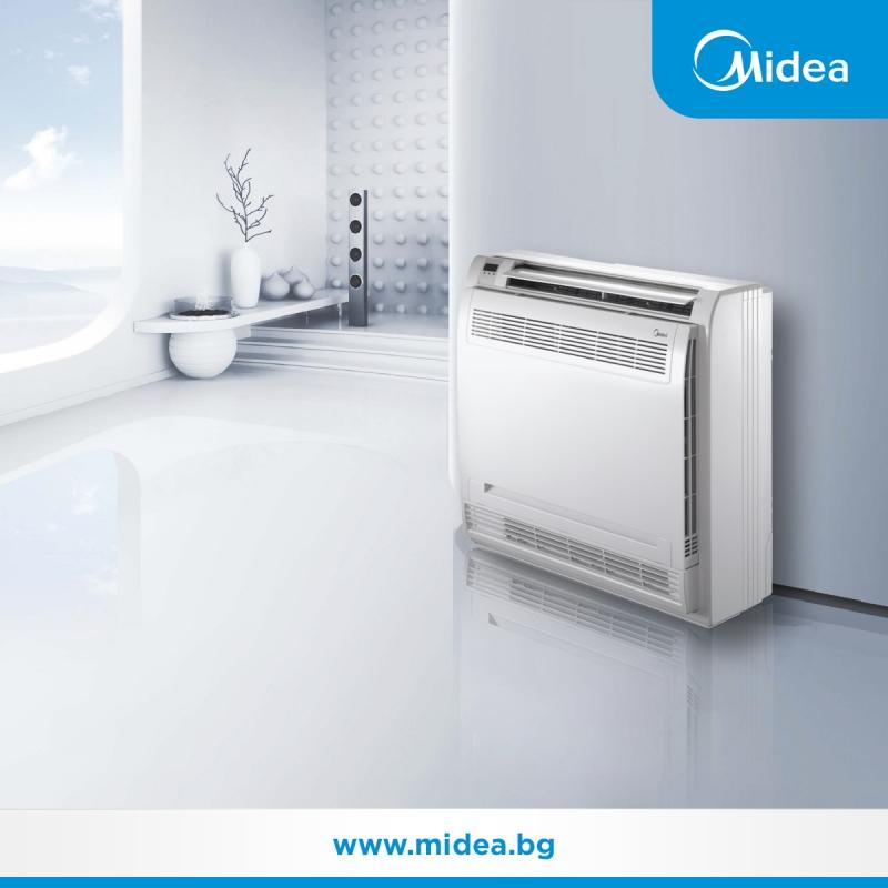 Подгответе се за зимата с подовите климатици Midea!