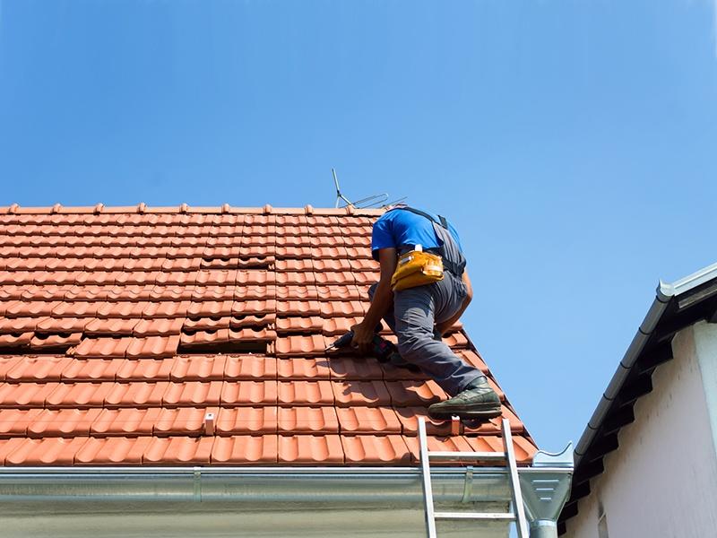 пренареждане на покрив