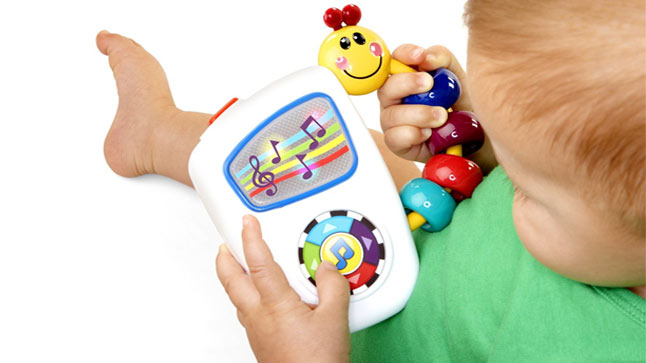 Избор на бебешки играчки