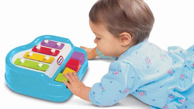 Музикални бебешки играчки