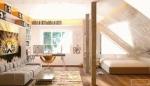 """Тавански етаж – преобразяването му в """"детски""""  апартамент"""